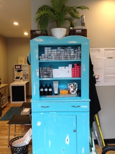 Beautiful hutch painted by Anderson Painting Co. from Quincy, MA